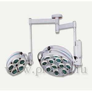 Операционный потолочный ALFA-717  Светильник 12+5 рефлекторный