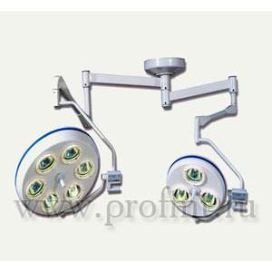 Операционный потолочный 6+3 рефлекторный Светильник ALFA-763