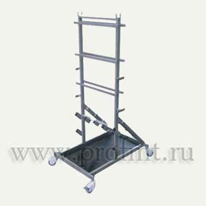 Комплект передвижной стенд для размещения съемных приспособлений и принадлежностей КПП-32