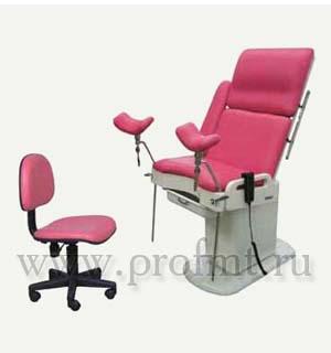 Кресло гинекологическое, электрогидравлическое СТ-4