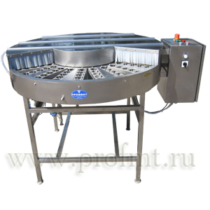 Машина для мойки флаконов (МСМ роторная) ПММФ-1500