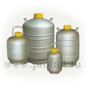 Сосуд Дьюара Х-40СКП (40 л) с хранилищем для биоматериалов, с горловиной 118 мм.м. Х-40СКП